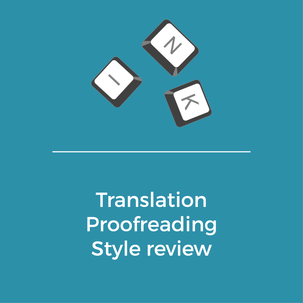 Services - Translation - Profreading -Style review