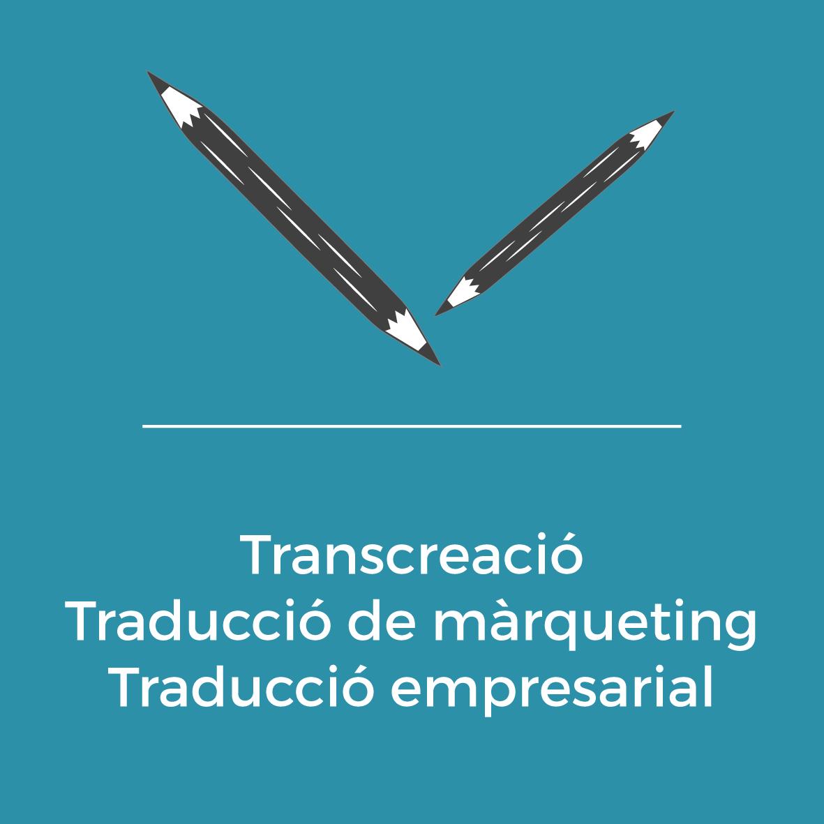 Serveis - Transcreació - Traducció de màrqueting - Traducció empresarial