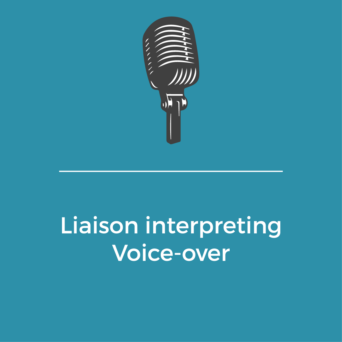 Services-Laison interpreting - Voice-over