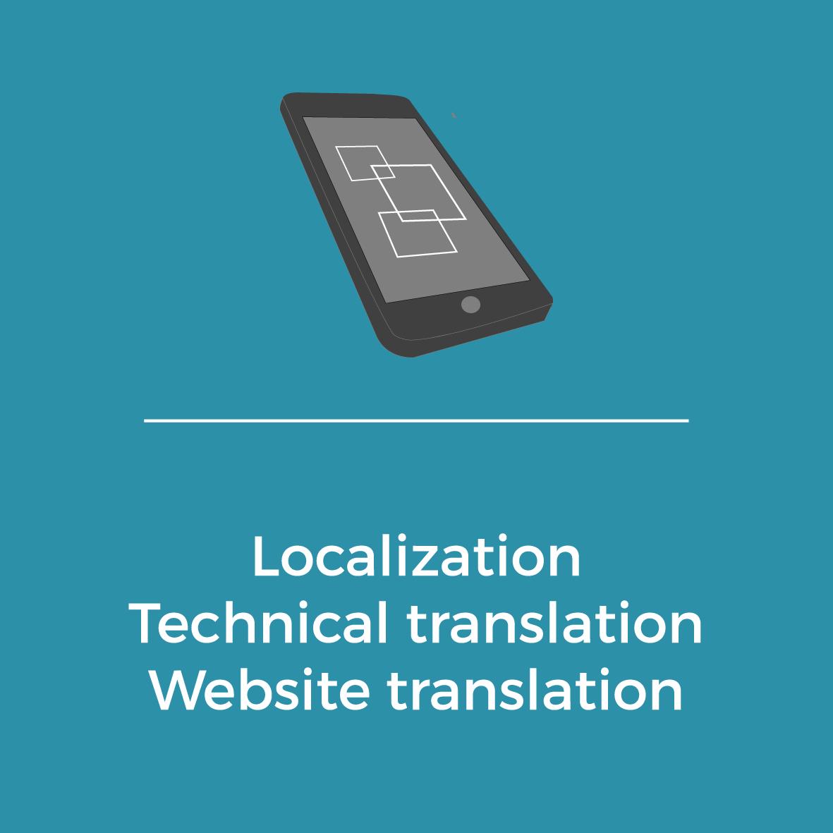 Services - Localization - Technical translation - Website translation