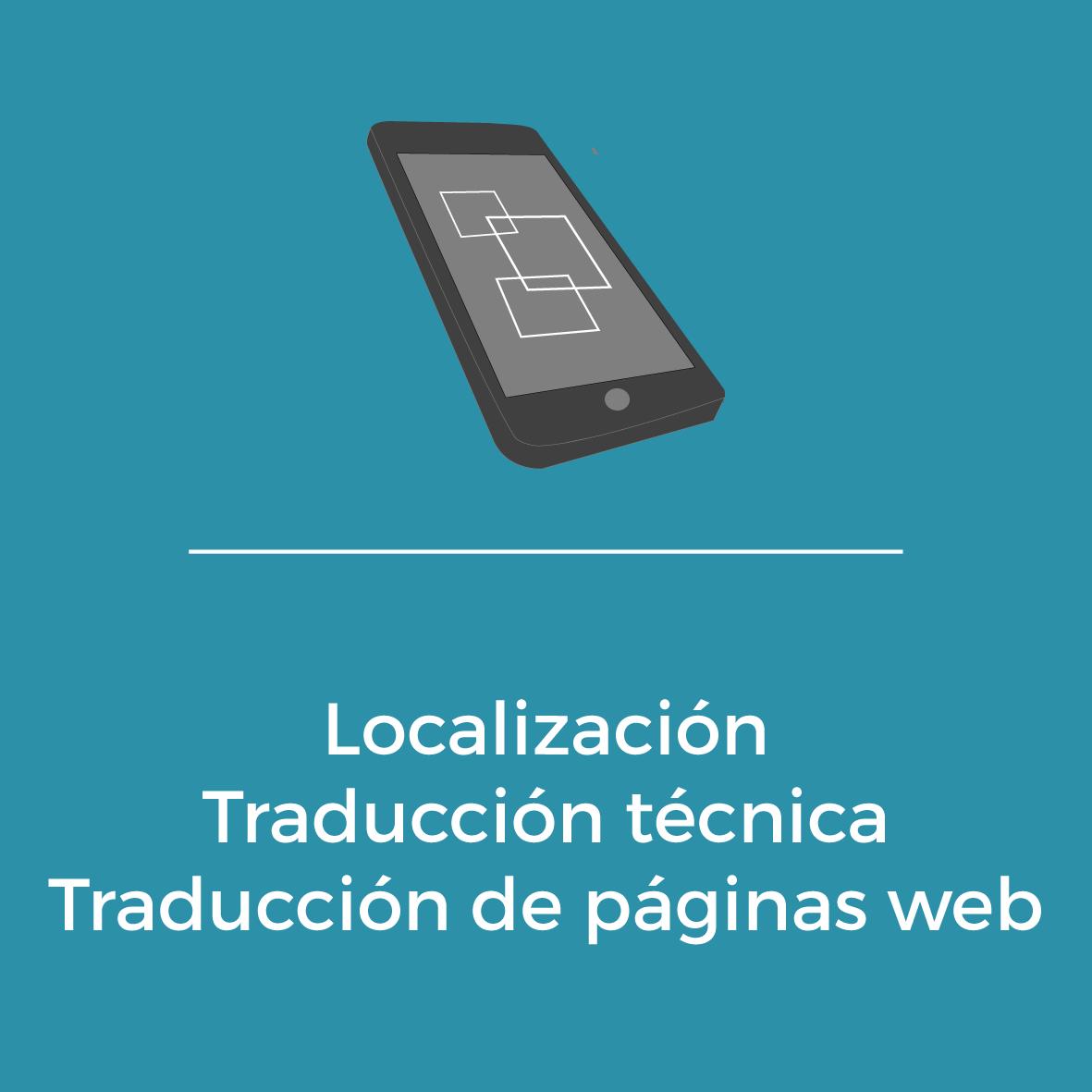 Servicios - Localización - Traducción técnica -Traducción de páginas web