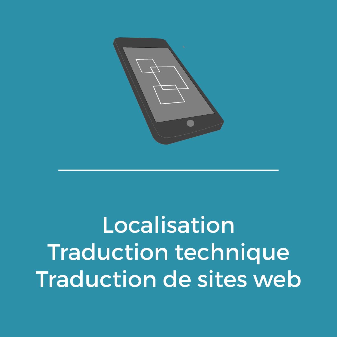 Services - Localisation - Taduction technique - Traduction de sites web
