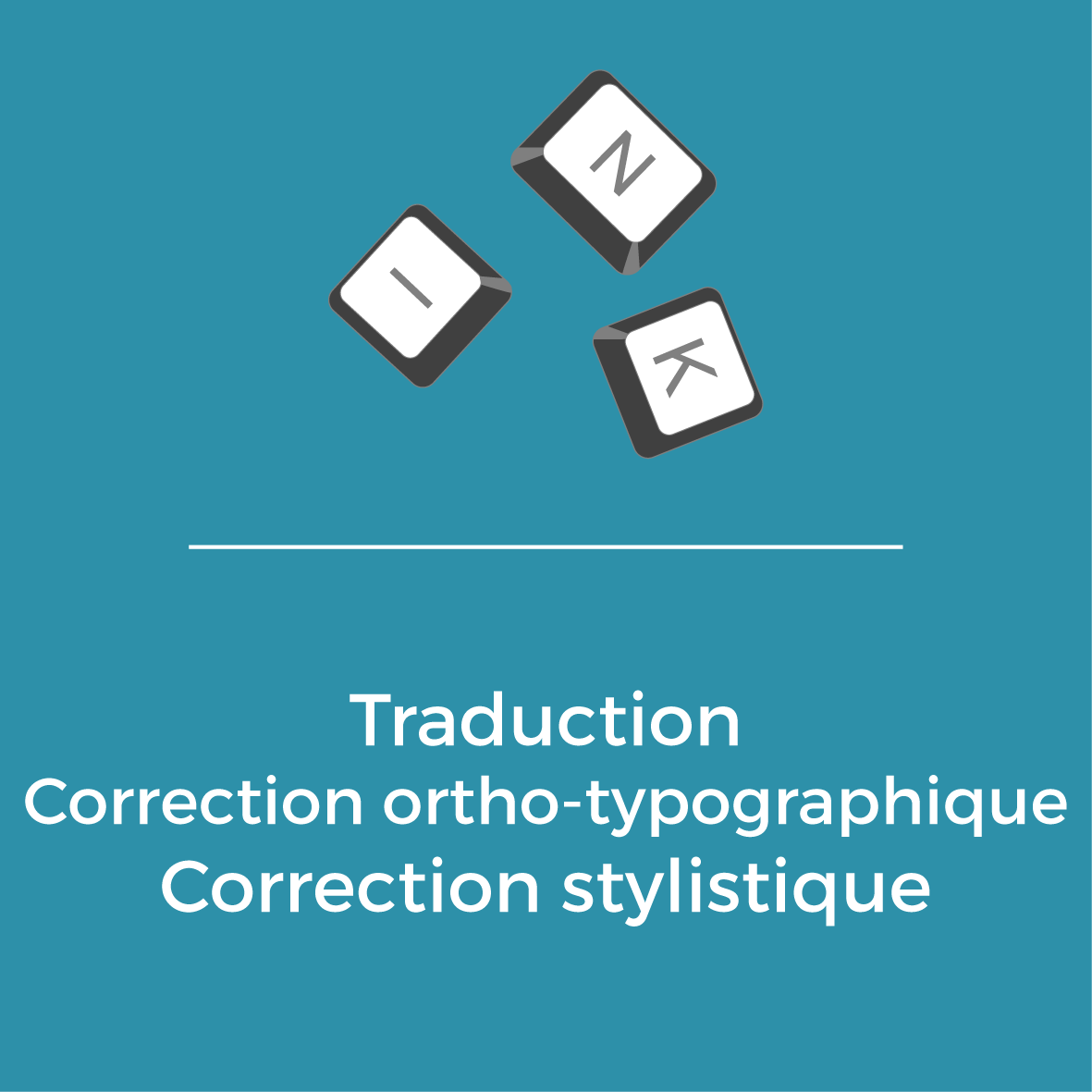 Services - Traduction - Correction ortho-typographique - Correction stylistique